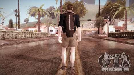 Estudante para GTA San Andreas terceira tela