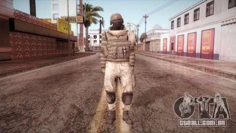 Armored Soldier para GTA San Andreas segunda tela