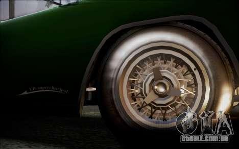 GTA 5 Vapid Peyote IVF para GTA San Andreas traseira esquerda vista
