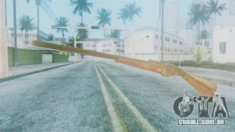 Red Dead Redemption Rifle para GTA San Andreas