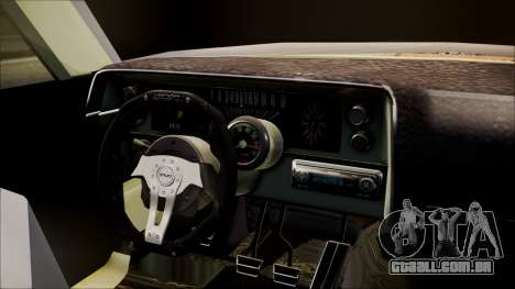Ford Falcon 3.0 para GTA San Andreas traseira esquerda vista