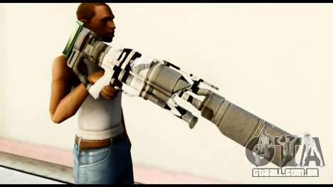 Rocket Launcher from Crysis 2 para GTA San Andreas terceira tela