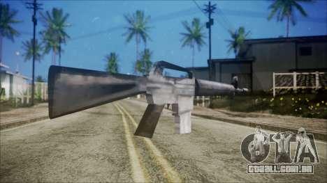 M16 para GTA San Andreas segunda tela