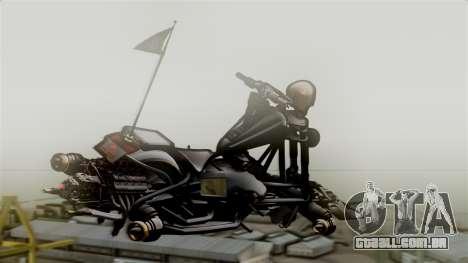 Hexer Moto Jet para GTA San Andreas esquerda vista