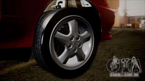 Toyota Mark II X90 para GTA San Andreas traseira esquerda vista