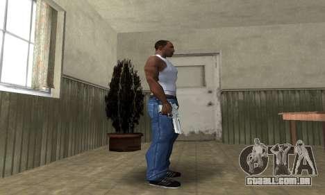 Cool Silver Deagle para GTA San Andreas terceira tela