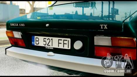 Dacia 1310 Carrera para GTA San Andreas vista direita