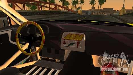 Nissan Silvia S14 Kouki Matt Faileds para GTA San Andreas traseira esquerda vista