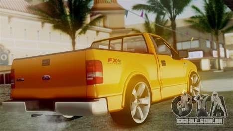 Ford F-150 Sport para GTA San Andreas esquerda vista
