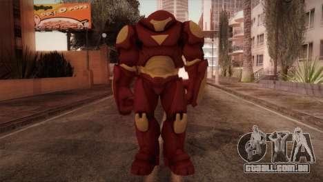 Classic Hulkbuster para GTA San Andreas segunda tela