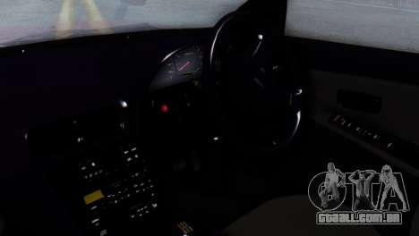 Nissan Silvia S13 Shakotan para GTA San Andreas vista direita
