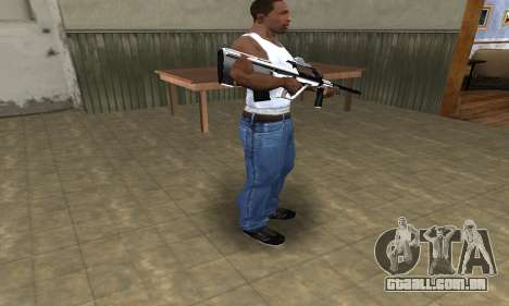 Chrome AUG para GTA San Andreas terceira tela