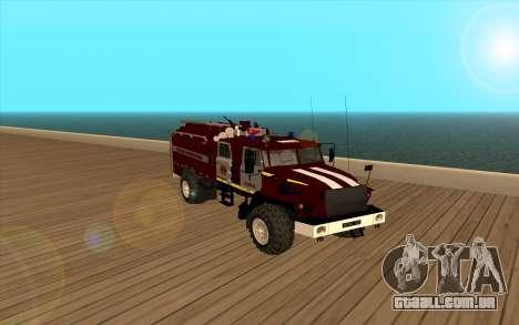 Ural 5557-40 o Ministério das situações de emerg para GTA San Andreas