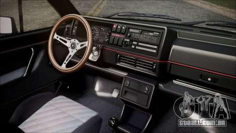 Volkswagen Golf Mk2 para GTA San Andreas vista direita