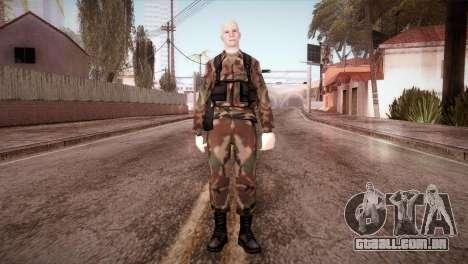 Shaved Soldier para GTA San Andreas segunda tela