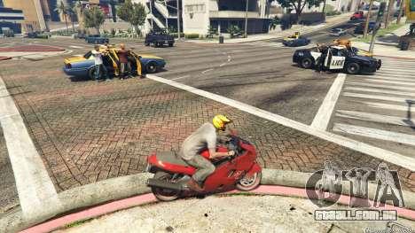 GTA 5 Police Chase Random Event segundo screenshot