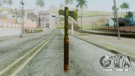 Tomahawk from Silent Hill Downpour para GTA San Andreas segunda tela