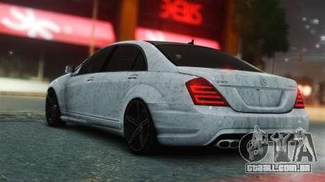 Mercedes-Benz S65 AMG Vossen para GTA 4 esquerda vista