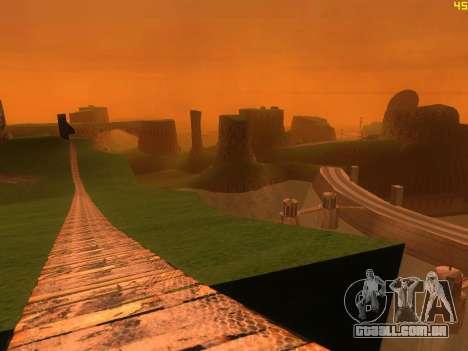 Verde deserto de Las Venturas v2.0 para GTA San Andreas terceira tela