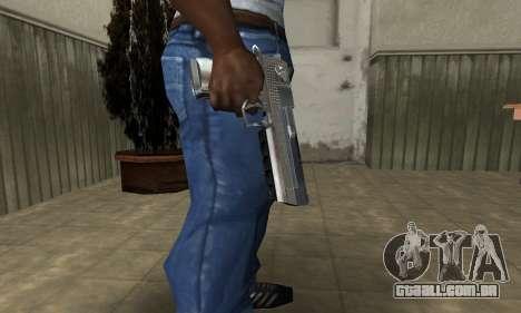 Cool Silver Deagle para GTA San Andreas segunda tela