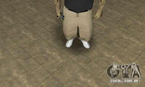 Rifa Skin Third para GTA San Andreas segunda tela