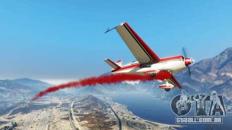 O fumo nos aviões v1.2 para GTA 5