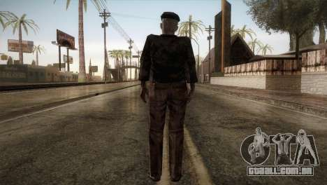 RE4 Don Diego without Hat para GTA San Andreas terceira tela