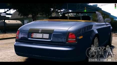 Rolls-Royce Phantom 2013 Coupe v1.0 para GTA 4 traseira esquerda vista
