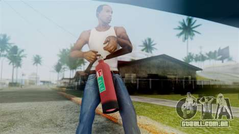 Fire Extinguisher from GTA 5 para GTA San Andreas terceira tela