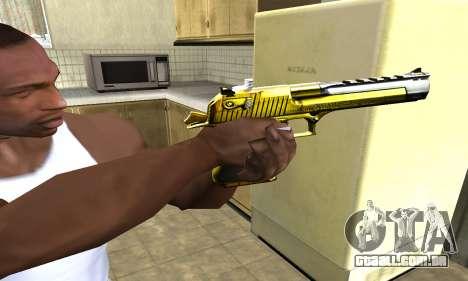 Yellow Deagle para GTA San Andreas