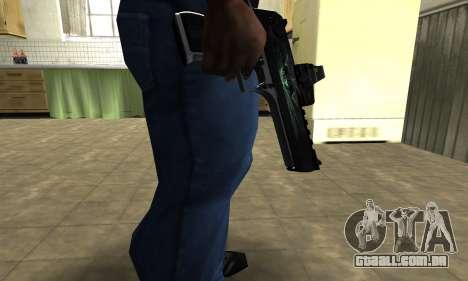 Blue Deagle para GTA San Andreas
