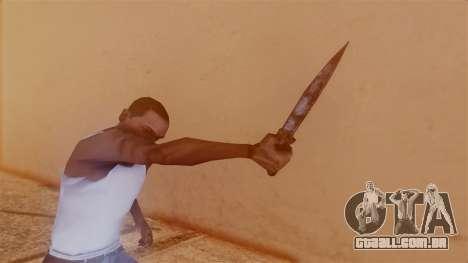 Nurse Knife para GTA San Andreas terceira tela