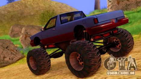 Premier Monster para GTA San Andreas esquerda vista