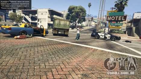 GTA 5 Police Chase Random Event quinta imagem de tela