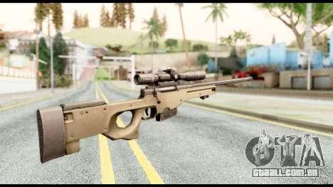 AWM L115A1 para GTA San Andreas segunda tela