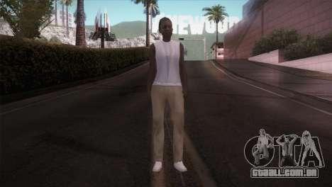 Senhora Barbeiro para GTA San Andreas segunda tela