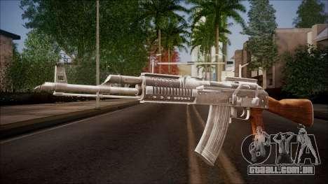 AK-47 v2 from Battlefield Hardline para GTA San Andreas
