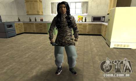 Cool Tokio Girl para GTA San Andreas
