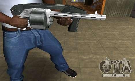 Silver Granate Combat Shotgun para GTA San Andreas segunda tela
