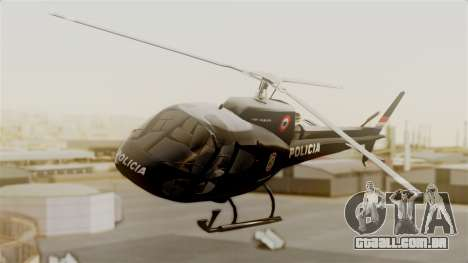 Helicopter National Police of Paraguay para GTA San Andreas