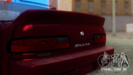 Nissan Silvia S13 Shakotan para GTA San Andreas vista traseira