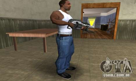 Silver Granate Combat Shotgun para GTA San Andreas terceira tela