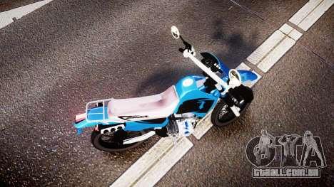 Honda XR 200 para GTA 4 vista direita