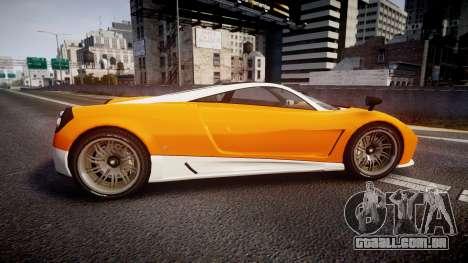 GTA V Pegassi Osiris para GTA 4 esquerda vista