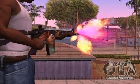M4 Grifin para GTA San Andreas segunda tela