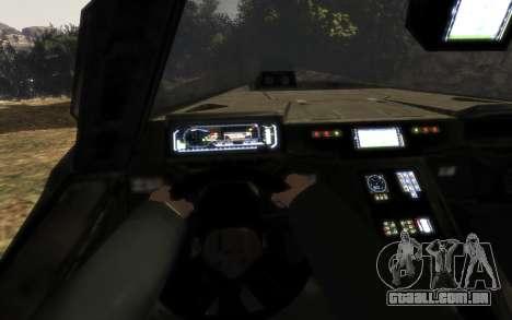Conselho de segurança DA onu M12 warthog do Halo para GTA 4 vista direita