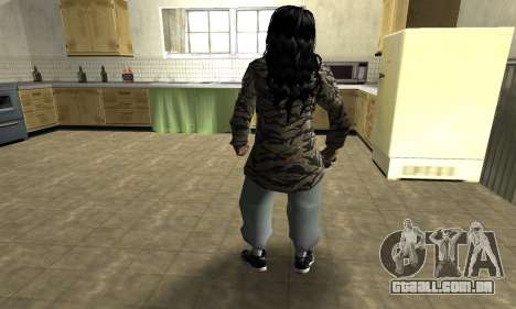 Cool Tokio Girl para GTA San Andreas terceira tela