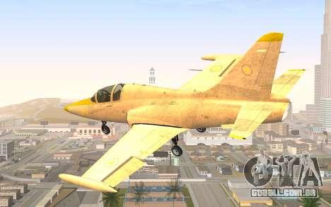 GTA 5 Besra para GTA San Andreas esquerda vista