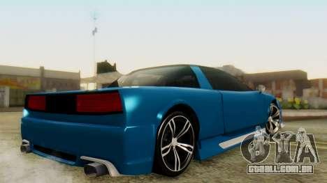 Infernus BMW Revolution para GTA San Andreas esquerda vista