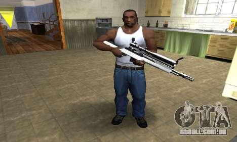 Bitten Sniper Rifle para GTA San Andreas terceira tela